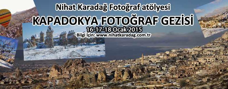 NKFA ile KAPADOKYA FOTOĞRAF GEZİSİ