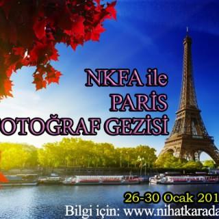 NKFA ile PARİS FOTOĞRAF GEZİSİ