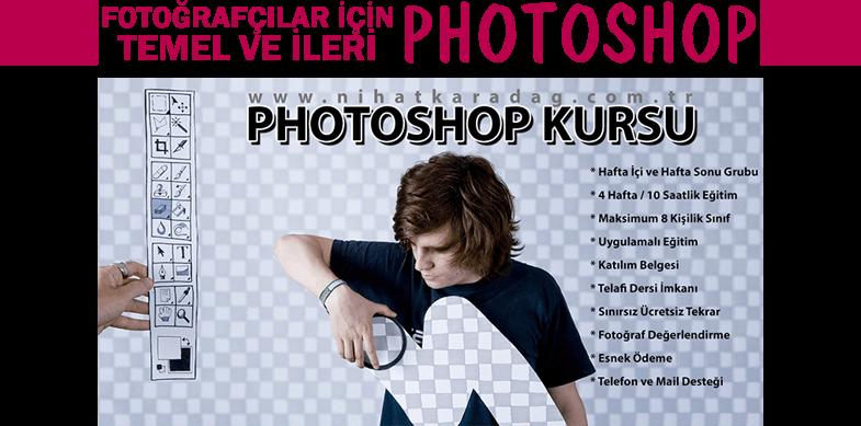 fotoğrafçılar için photoshop fotoğrafçılık kursu