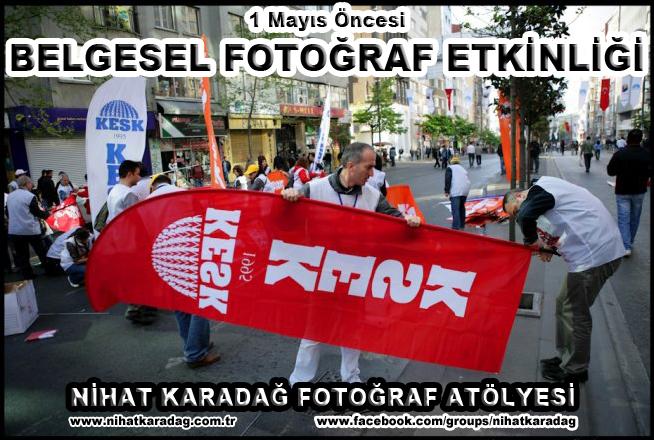 """""""SOSYO-BELGESEL FOTOĞRAF ETKİNLİĞİ"""" (ÜCRETSİZ)"""