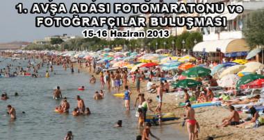 AVŞA ADASI FOTOMARATONU'NA GİDİYORUZ