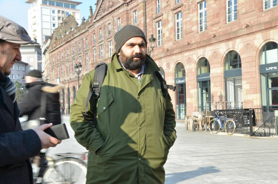 FRANSA-Strasbourg'da AJI İçin Verdiğim Fotoğraf Eğitimi