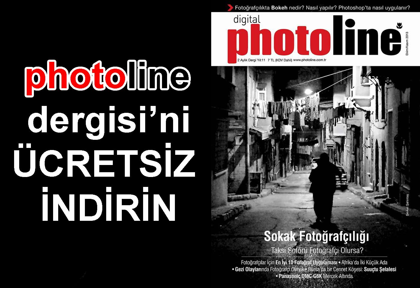 Photoline Dergisi'ni Ücretsiz İndirin