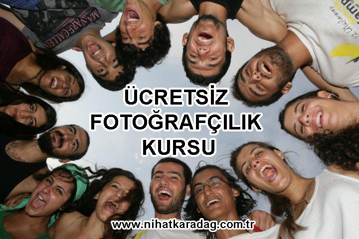 ÜCRETSİZ FOTOĞRAFÇILIK KURSU