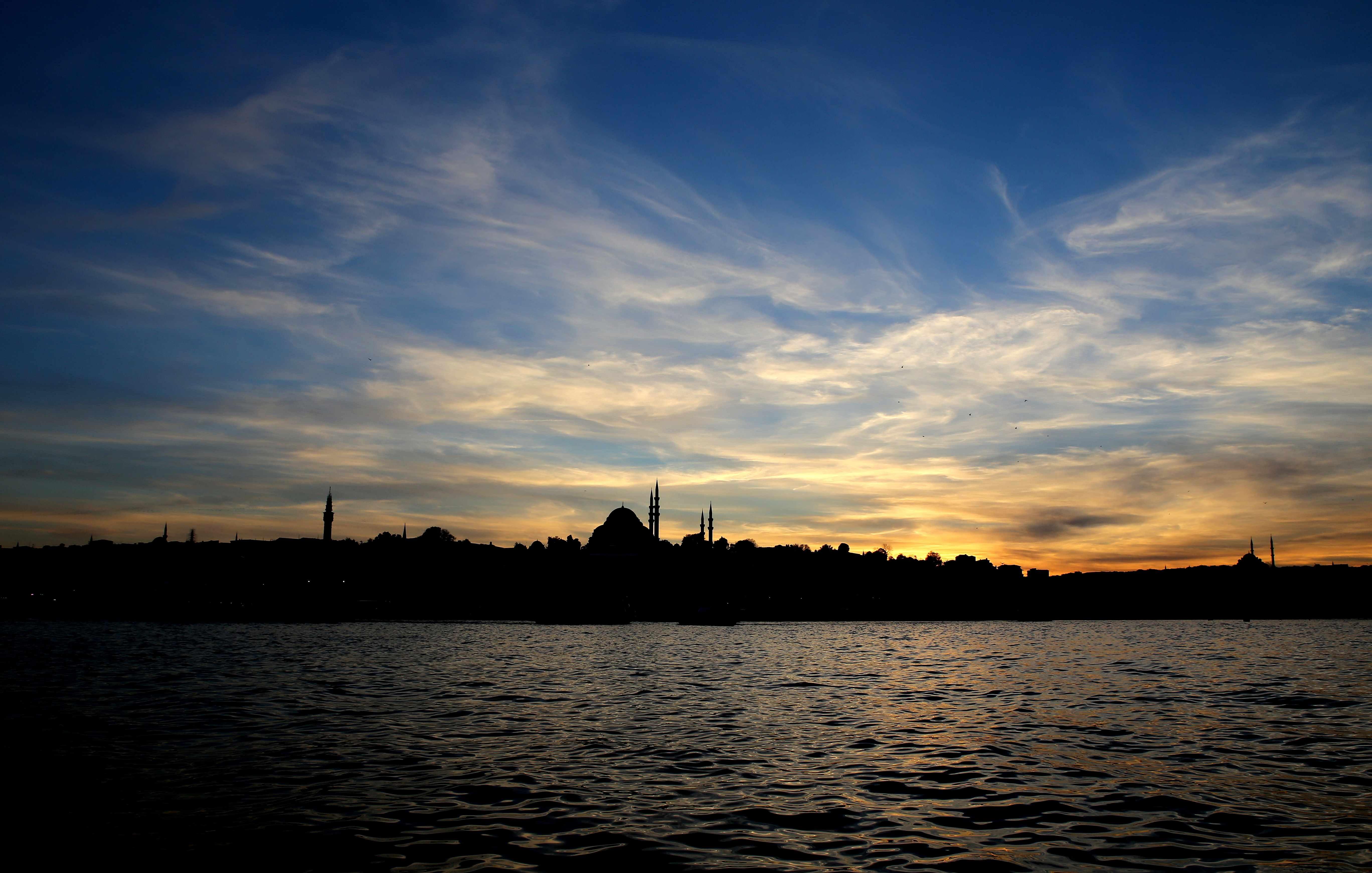 Karaköy'den Eminönü'ye bakış