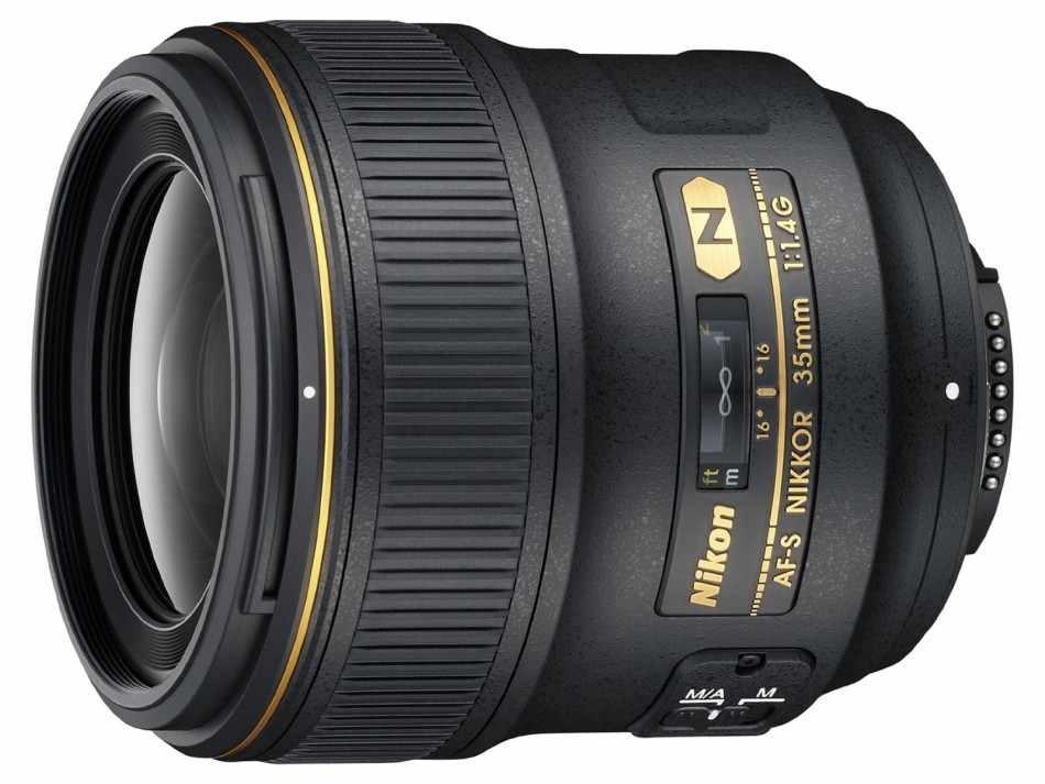 Nikkor 35mm f/1.8G FX ve 18–55mm f/3.5–5.6G DX VR II Lens Detayları