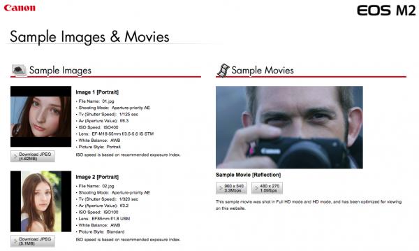 Canon, EOS M2 ile çekilen örnek fotoğraf ve videoları yayımladı