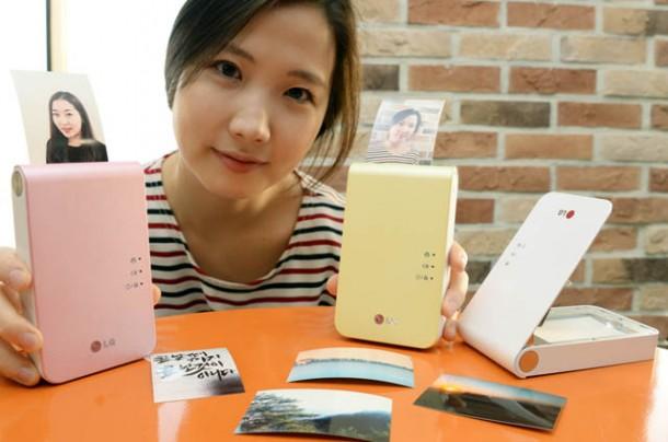 LG, mobil fotoğraf yazıcısı Pocket Photo'nun yeni versiyonunu hazırladı