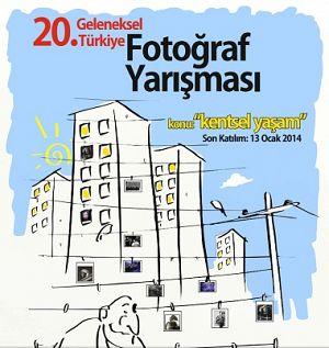 20. Geleneksel Türkiye Fotoğraf Yarışması'nda Tema: Kentsel Yaşam