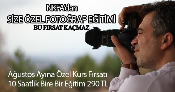 SİZE ÖZEL FOTOĞRAFÇILIK KURSU