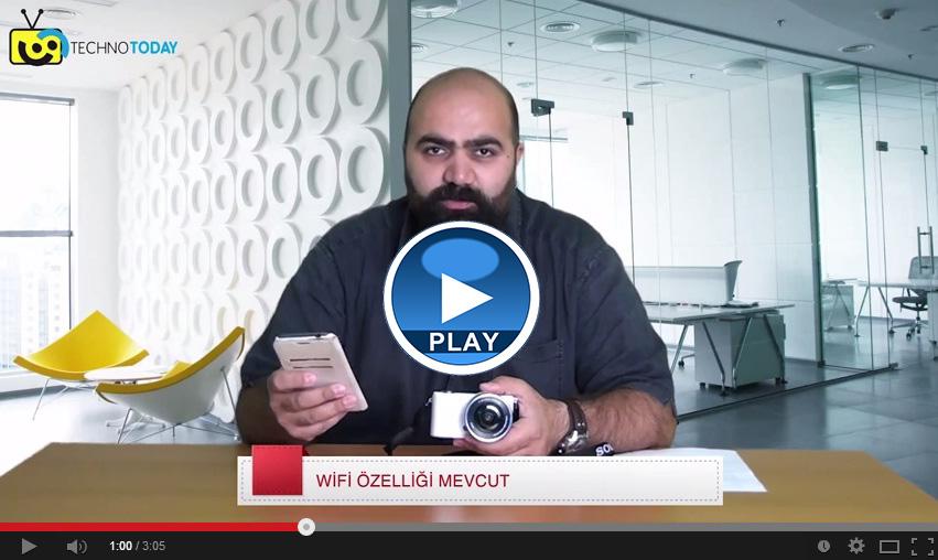 Sony  A5000 Aynasız Fotoğraf Makinesini İnceledik (VİDEO)