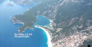 Fethiye Fotoğraf Gezimizde LG G2 Eşliğinde Yamaç Paraşütü Yaptık