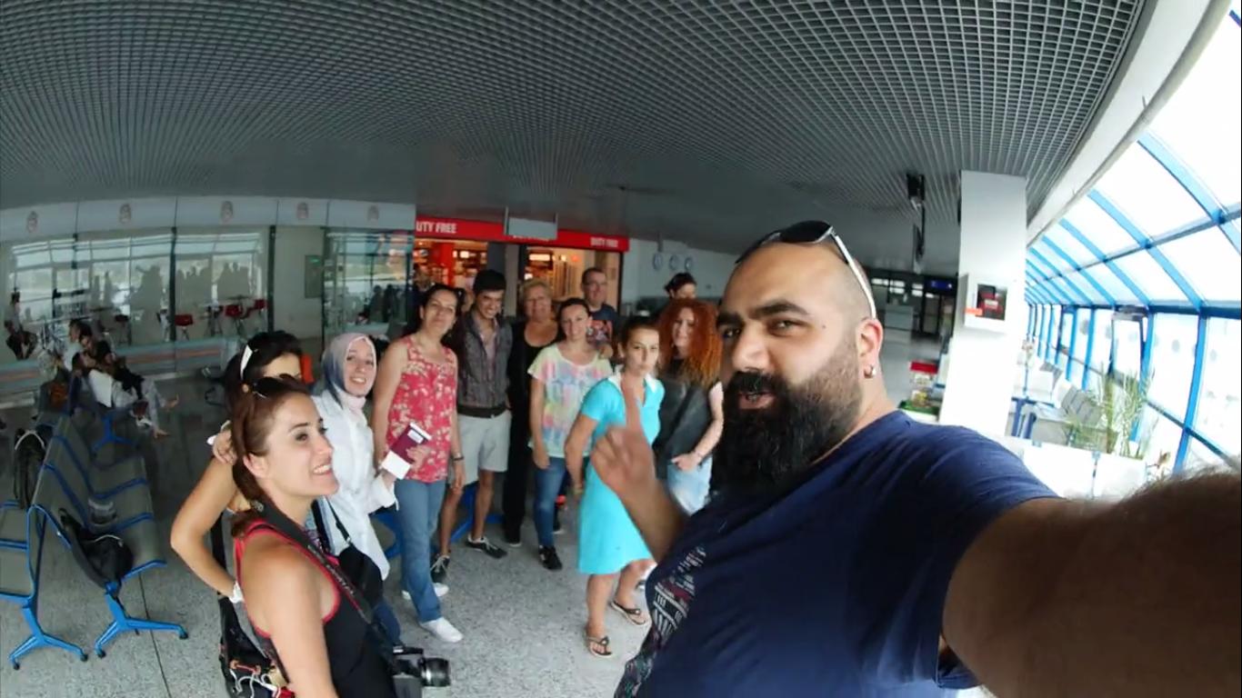 NKFA Saraybosna Havaalanından Dönüyor…