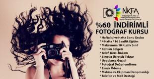 %60 İndirimli Fotoğrafçılık Kursu