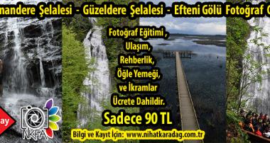 NKFA ile DÜZCE ŞELALELERİ FOTOĞRAF GEZİSİ