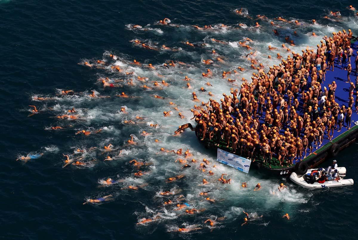 ERCAN ARSLAN Asya'dan Avrupaya yüzme yarışmas/ı 2012/AB'nin Türkiye'ye yansımaları