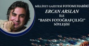 Ercan Arslan ile Basın Fotoğrafçılığına Dair Fotoğraf Sunumu ve Söyleşi
